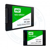 Unidad de estado solido Western Digital 120GB